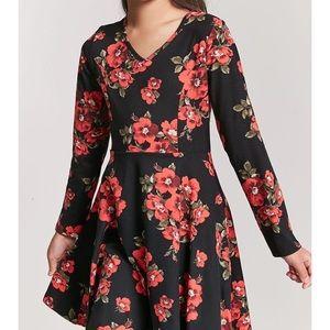 floral dress - forever 21